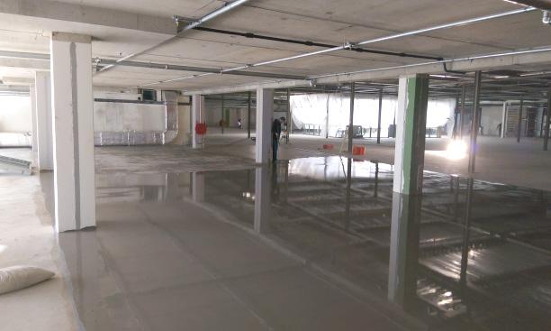 Industriële gietvloeren voor (parkeer)garages