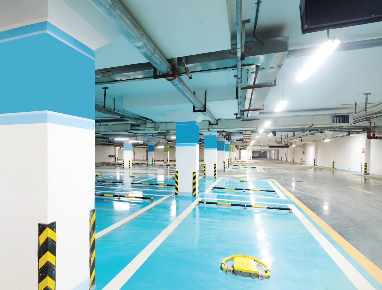 Ega-Floor-Tec gietvloeren voor (parkeer)garages en garagebedrijven.