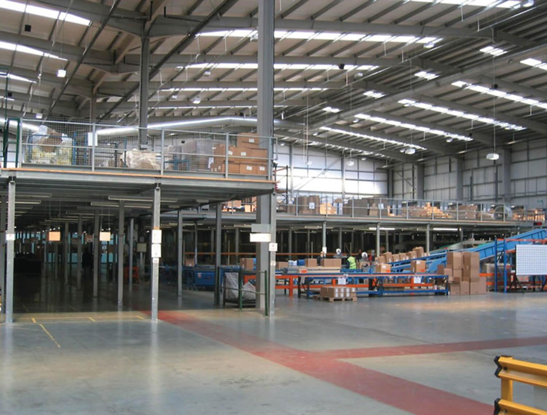 Ega-Floor-Tec gietvloeren voor industriele productiebedrijven
