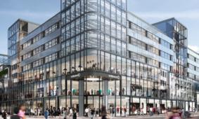 Vloerrenovatie betonvloer De Bijenkorf in Utrecht