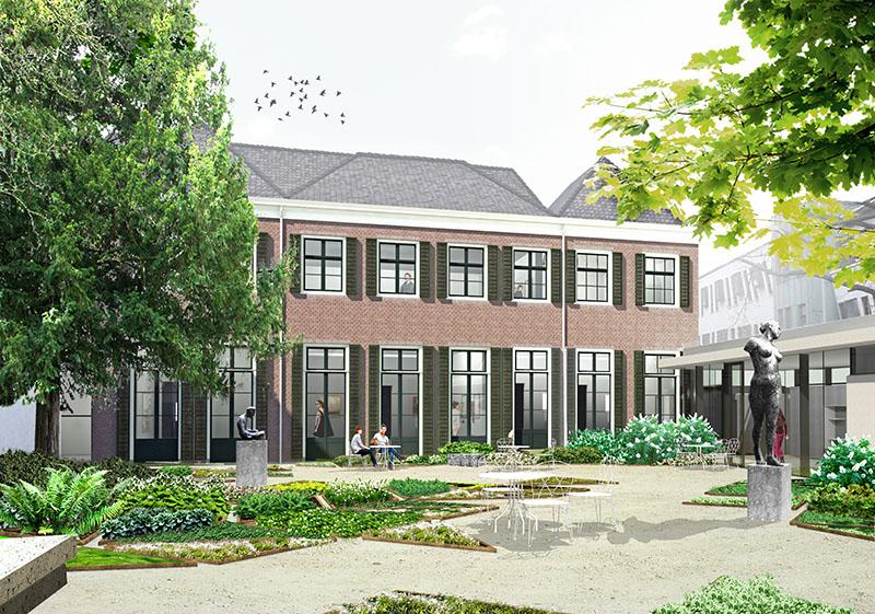 Dekvloer renovatie Hof van Heeckeren Zutphen